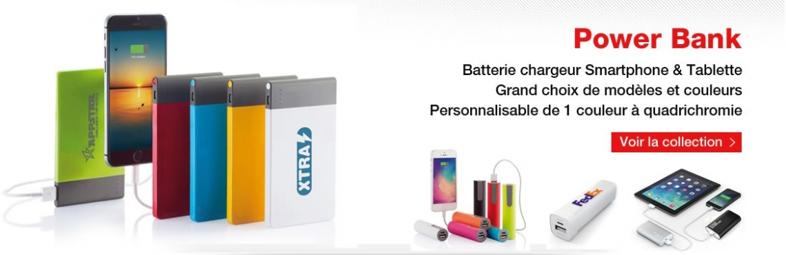 Power bank publicitaire